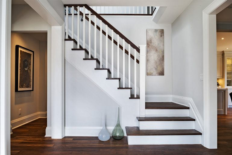 Dundurn stairs by Mather Fine Homes
