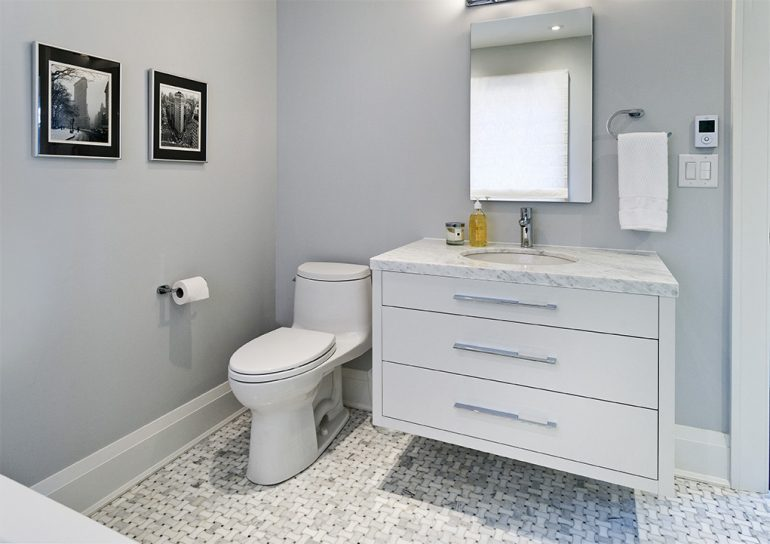 Dundurn bathroom by Mather Fine Homes