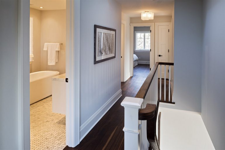 Dundurn up stairs landing by Mather Fine Homes